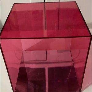 1 Victoria's Secret acrylic display